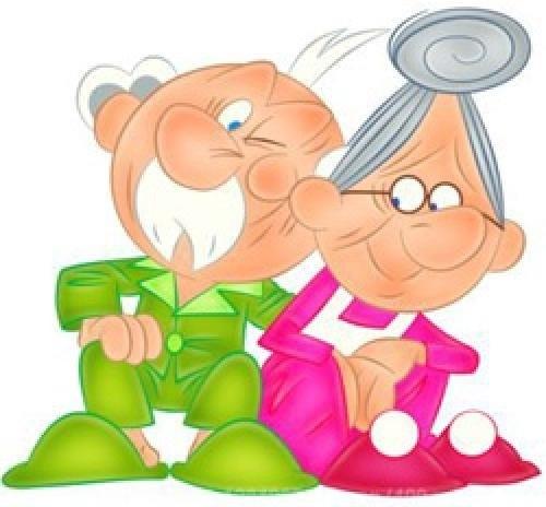 фото ко дню пожилого человека рисунки