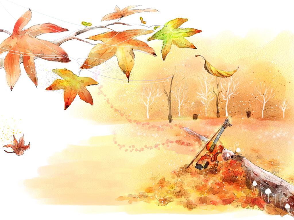 Картинки пейзаж золотая осень