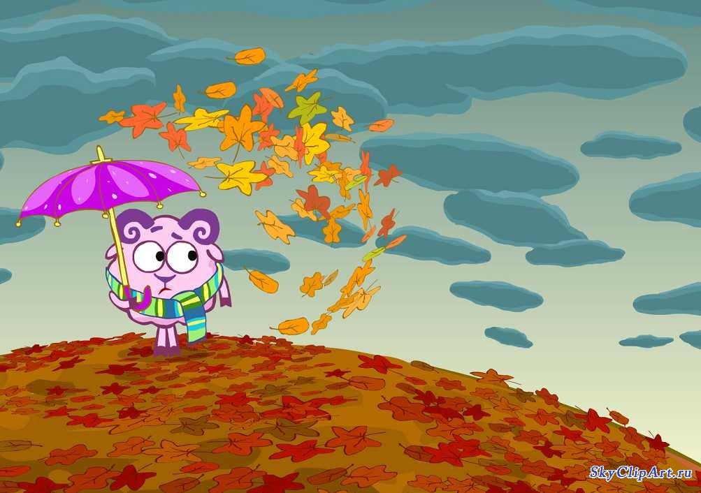 рисунки на тему осень фото